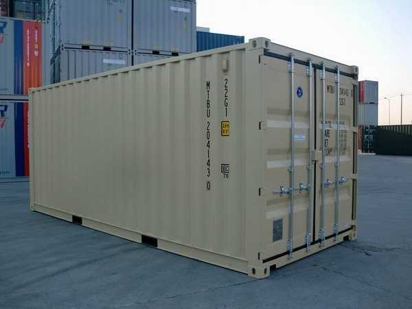 20 ft tan ral shipping containers gallery 002