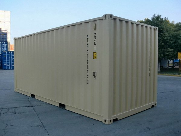 20 ft tan ral shipping containers gallery 006