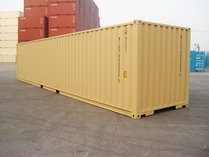 40' DV RAL 1001 shipping containers